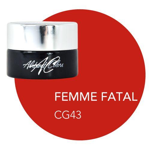 Abstract Abstract gel de couleur 5 ml  Femme Fatale CG43