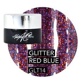 Abstract® Abstract gel de couleur 5 ml  Glitter RedBlue GLT14