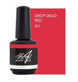 Abstract Brush N' Color 15 ml Drop Dead Red