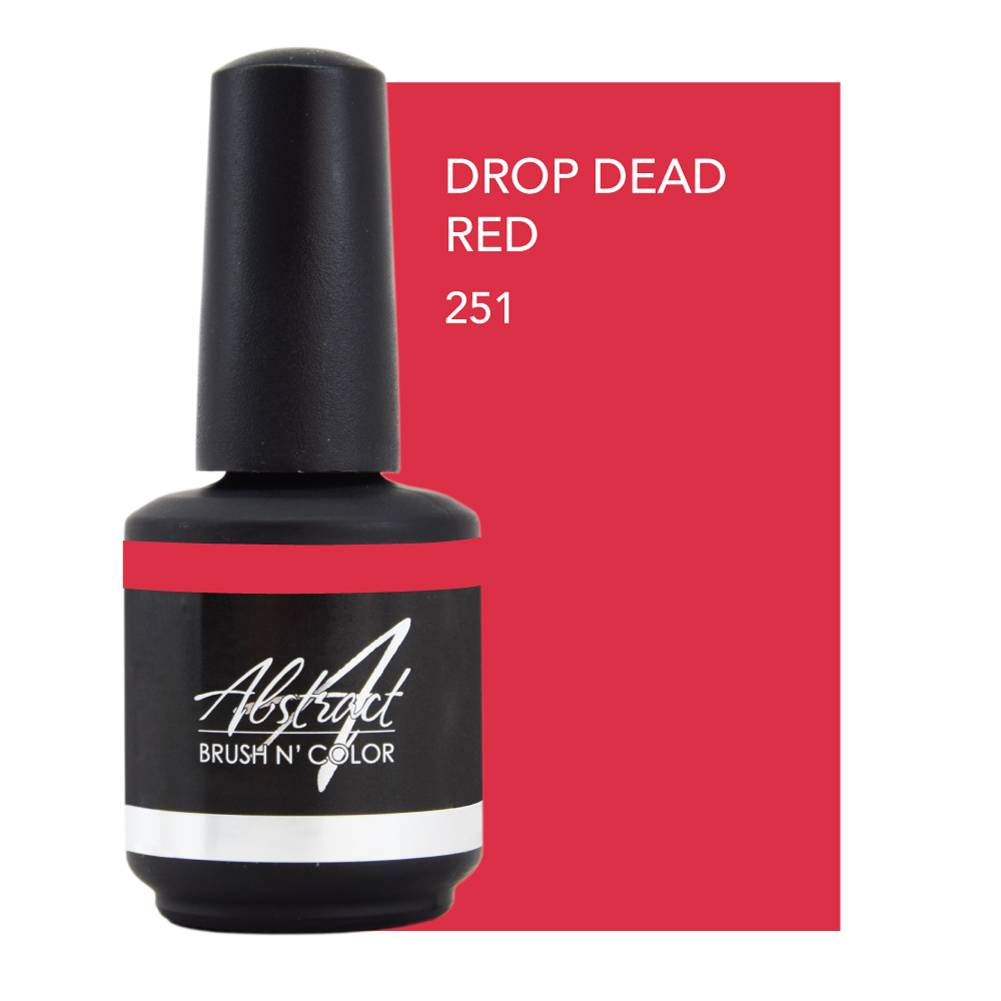 Abstract® Brush N' Color 15 ml Drop Dead Red