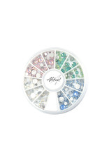 Abstract Premium rhinestone carrousel Opal Stones Mix