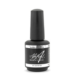 Abstract Brush N' Color 15 ml Rubber Top &  Shine