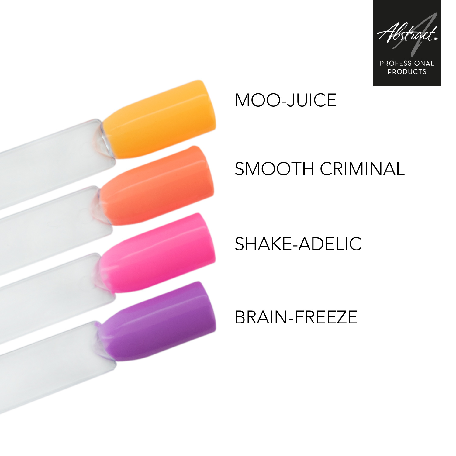 Abstract Brush N' Color collectie Crazy Straws