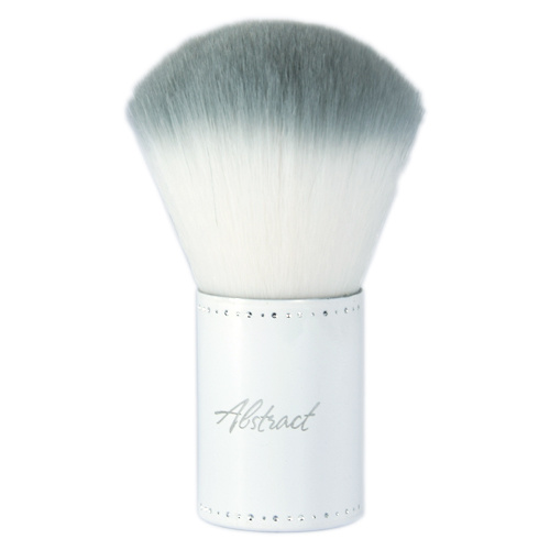 Abstract Fluffy clean brush