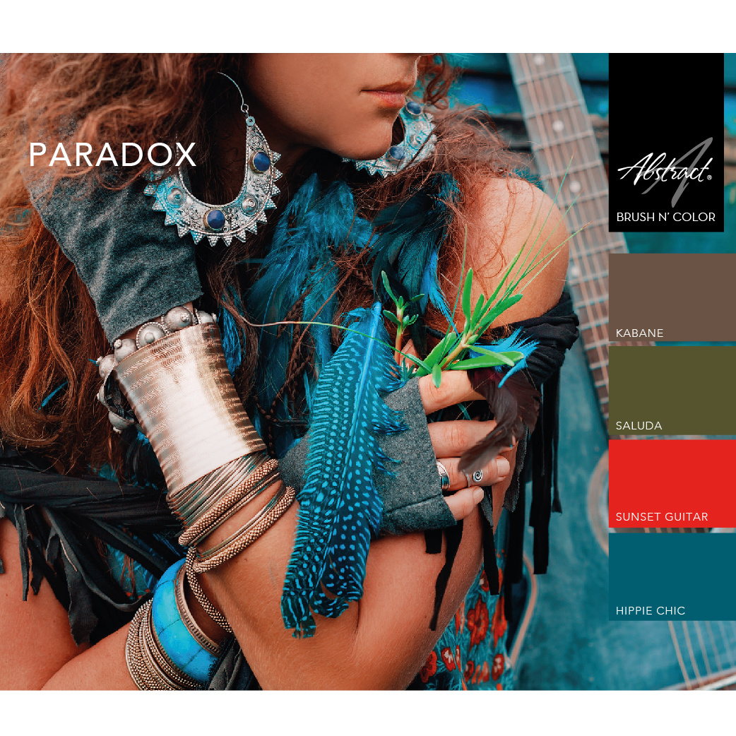 Abstract® Brush N' Color collectie Paradox