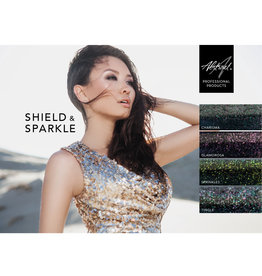 Abstract Shield & Sparkle Collection