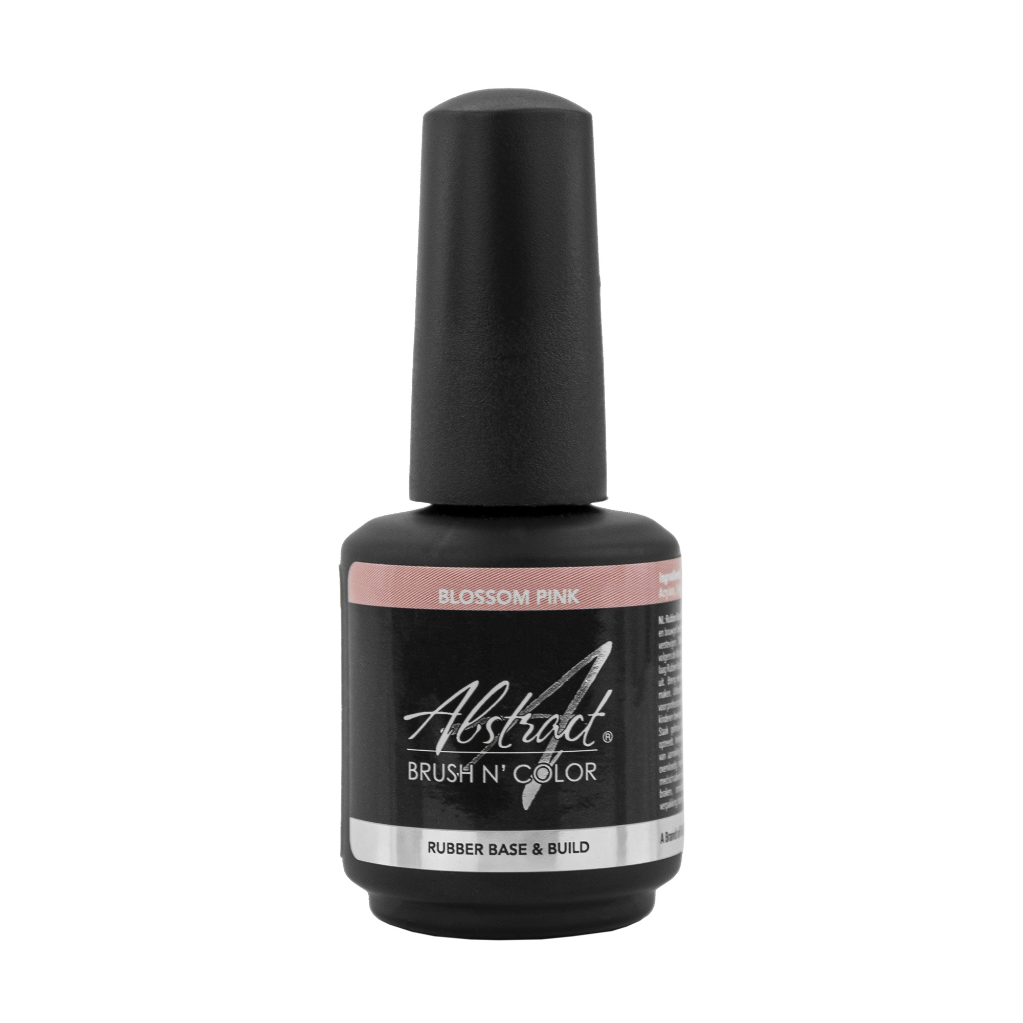 Abstract Brush N' Color 15 ml Rubber Base & Build - Blossom Pink