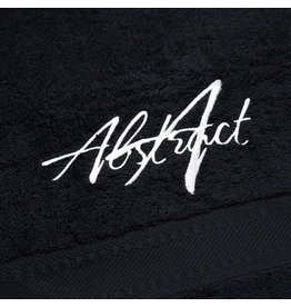 Abstract Micro Fiber Handdoek Black 73x40cm