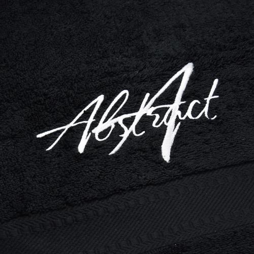 Abstract® Micro Fiber Handdoek Black 73x40cm