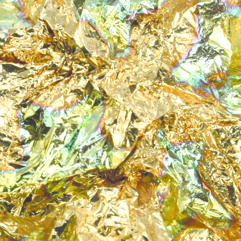 Abstract® Bladgoud Gold flame