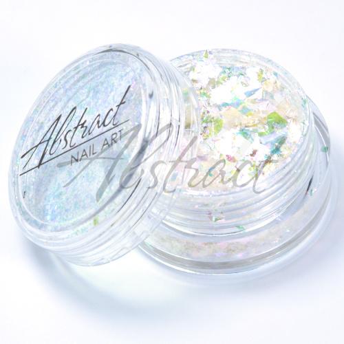 Abstract® Flakes opal rainbow ridge