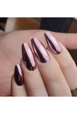Abstract Chrome Vintage Rose Pigment
