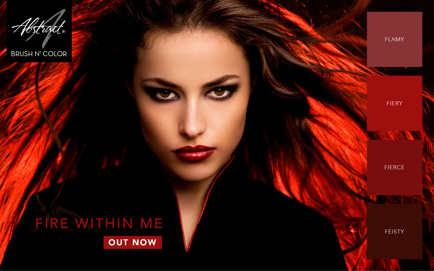 Abstract Brush N' Color 15 ml collectie Fire Within Me