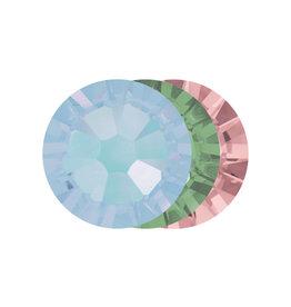 Abstract Crystals Jade mix ss3 50stuks