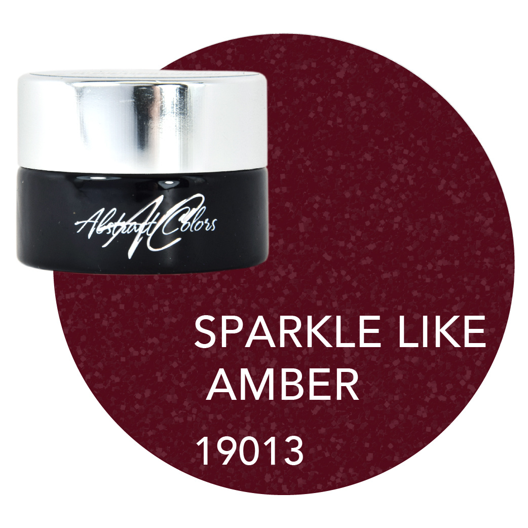Abstract Colorgel 5 ml Sparkle Like Amber 19013