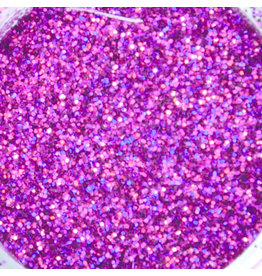 Abstract Glitter Hologram Cherry Blossom