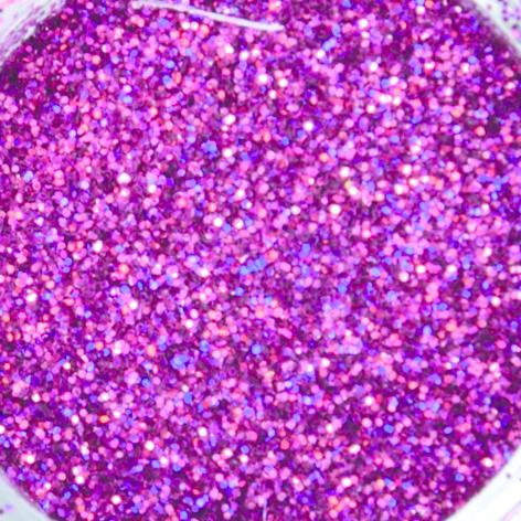 Abstract Glitter Hologram Cherry Blossom