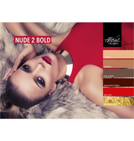 Abstract Creamies collectie Nude 2 Bold
