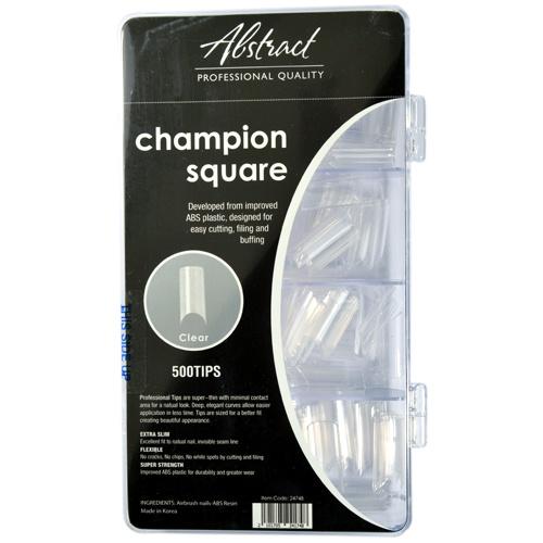 Abstract Copy of Champion square natural tips 500 stuks