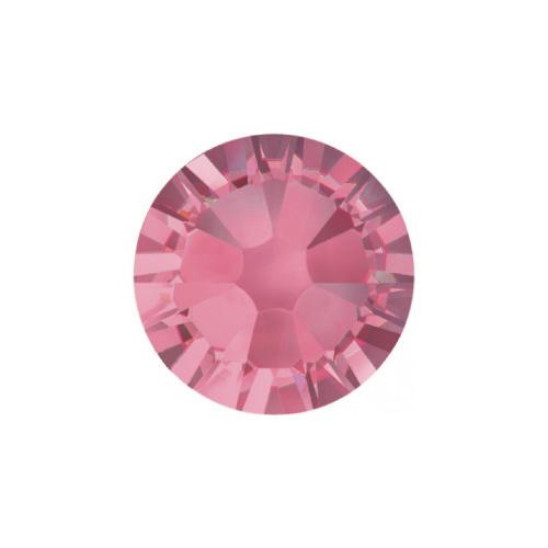 Abstract® Crystals Rose ss3 50stuks