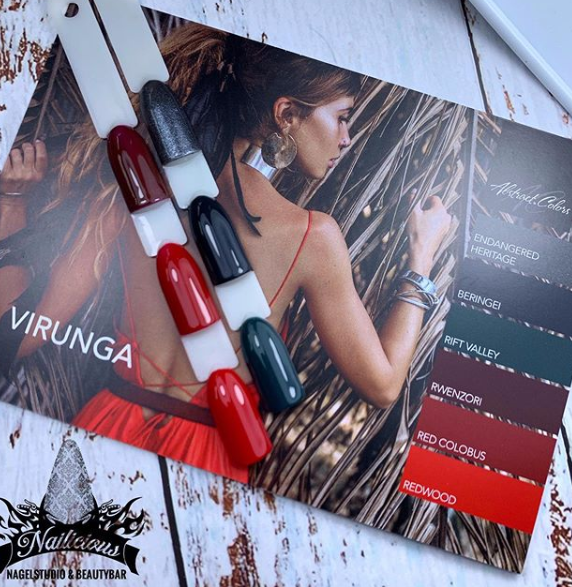 Abstract Colorgel collectie Virunga