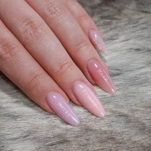 Abstract Fiber Gel Milky Pink 50gr