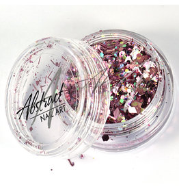 Abstract Glitter Mix AB Pink