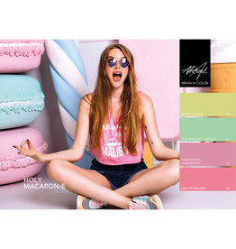 Abstract Brush N' Color collectie Holy Macaron-E PRE ORDER