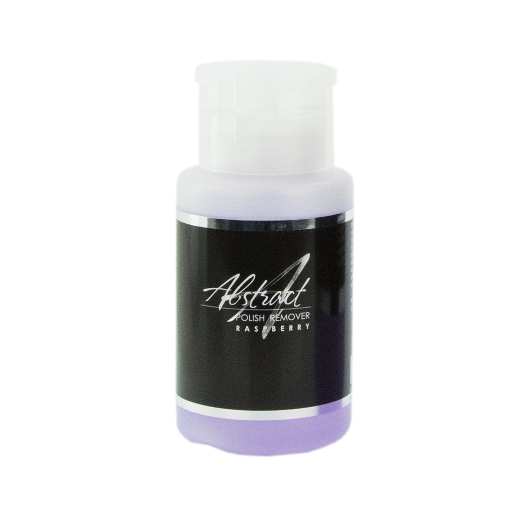 Abstract Nail Polish Remover - Raspberry 150ml in pompflesje