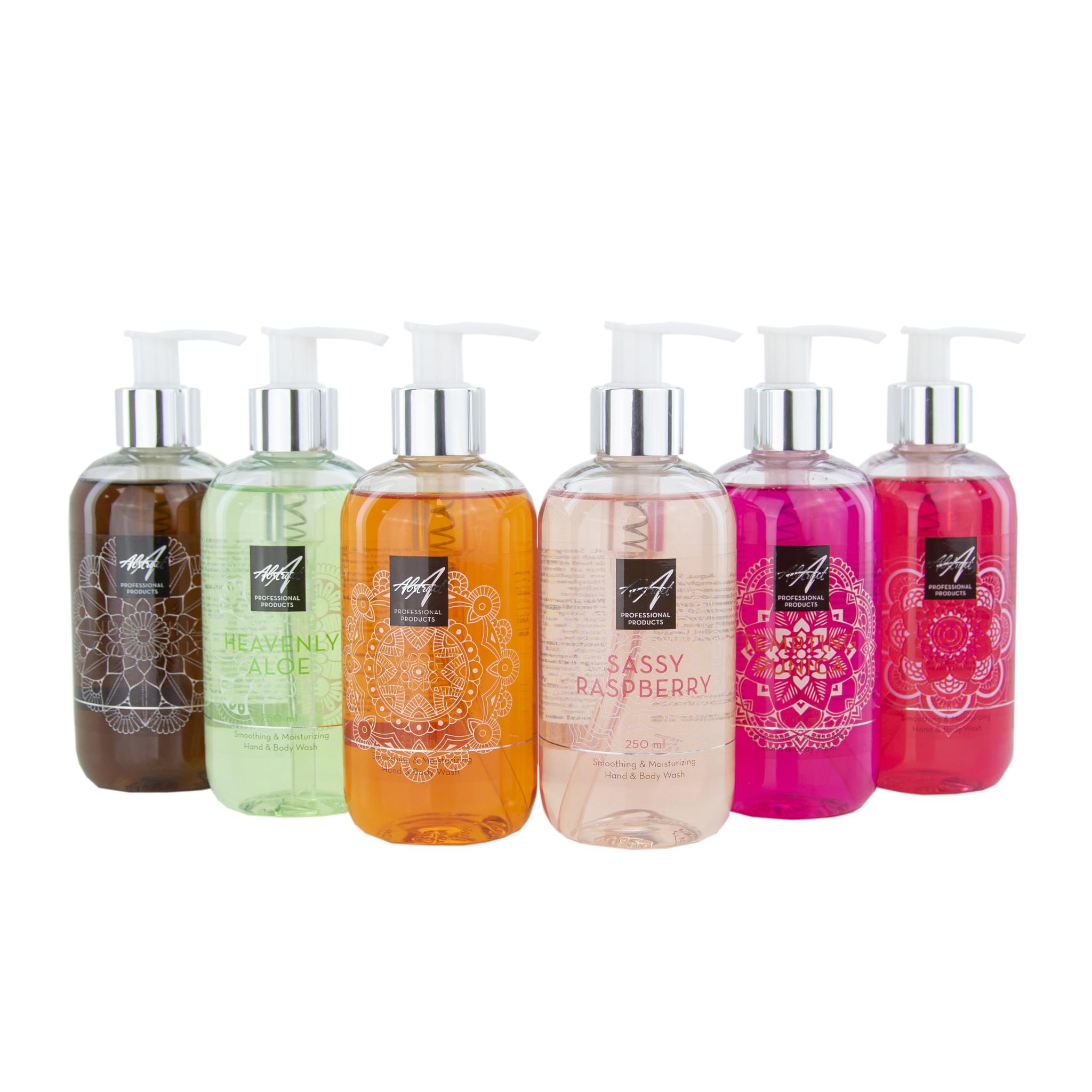 Abstract Hand & Body Soap - Sassy Raspberry 250 ml