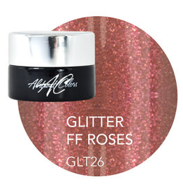 Abstract Abstract gel de couleur 5 ml Glitter FF Roses GLT26
