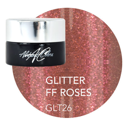 Abstract® Colorgel 5 ml Glitter FF Roses GLT26