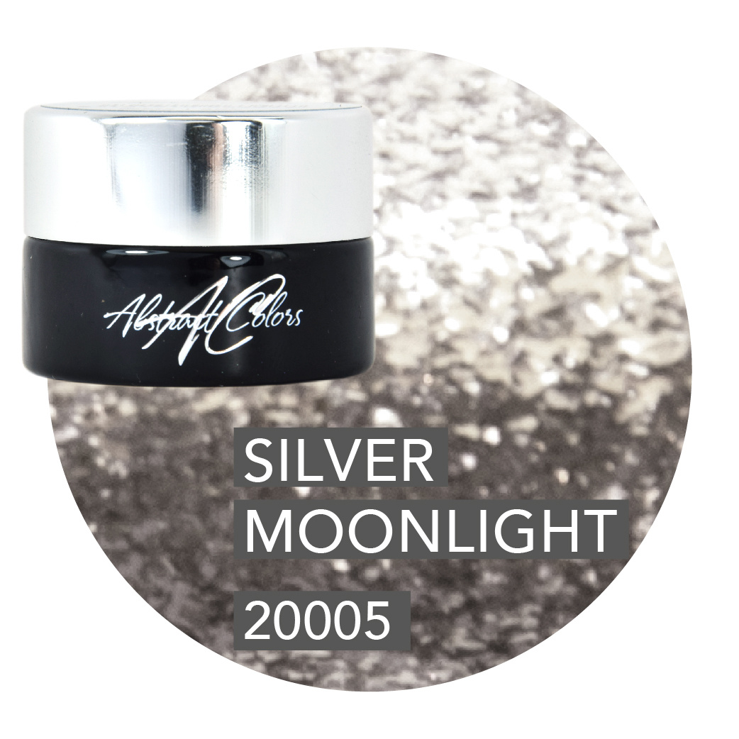 Abstract® Colorgel 5 ml Glitter Silver Moonlight