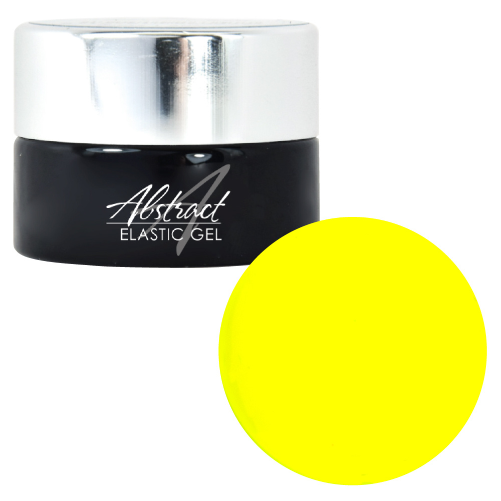 Abstract Elastic gel 5 ml Neon Yellow
