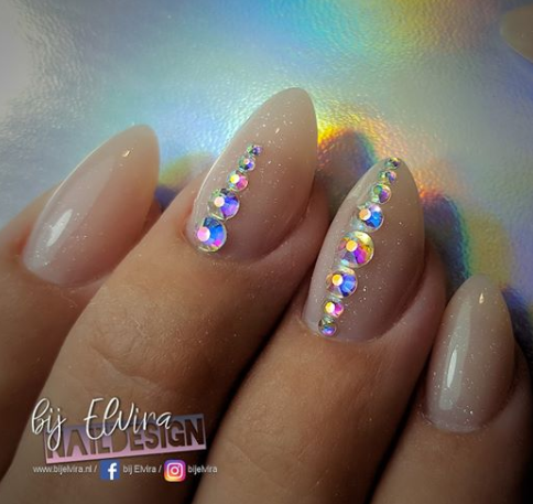 Abstract® Superior Polymer Sparkling Nude Pink 15gr