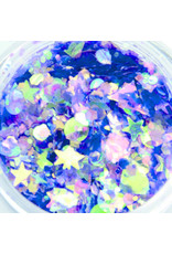 Abstract Dreamworld glitter Lavender