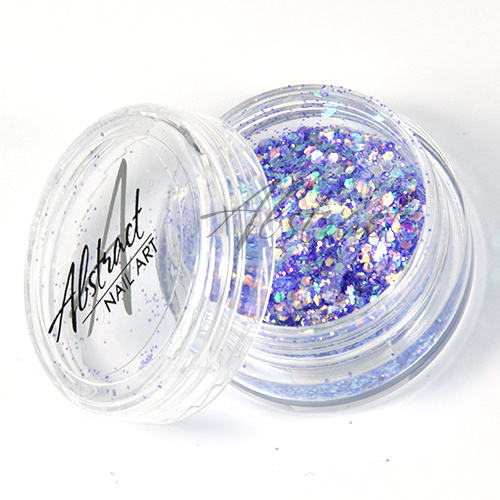 Abstract Glitter multimix Pastel Lavender