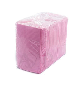 Abstract Table Towel Plasty PINK (125pcs/pack)