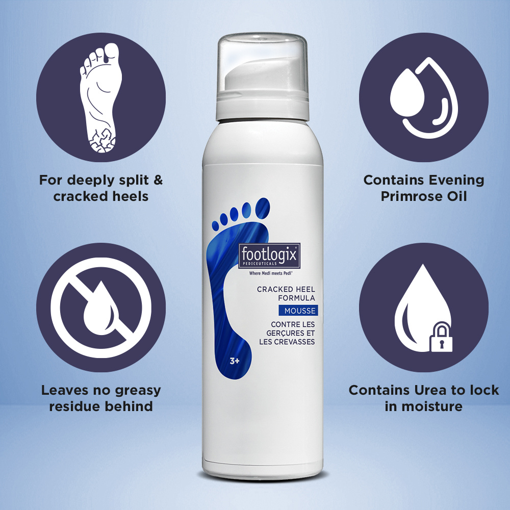 Footlogix Cracked Heel Formula 125 ml