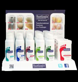Footlogix Retail Counter Display incl producten