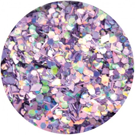 Abstract® Glitter multimix Violet