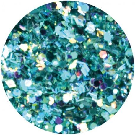 Abstract Glitter Multimix Azure