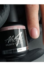 Abstract® Brush N' Color 15 ml Rubber Base & Build - Baby Pink