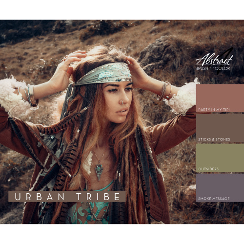 Abstract® Brush N' Color 15 ml collectie Urban Tribe