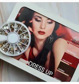 Dress Up collectie + GRATIS Roses & Champagne rhinestone wieltje