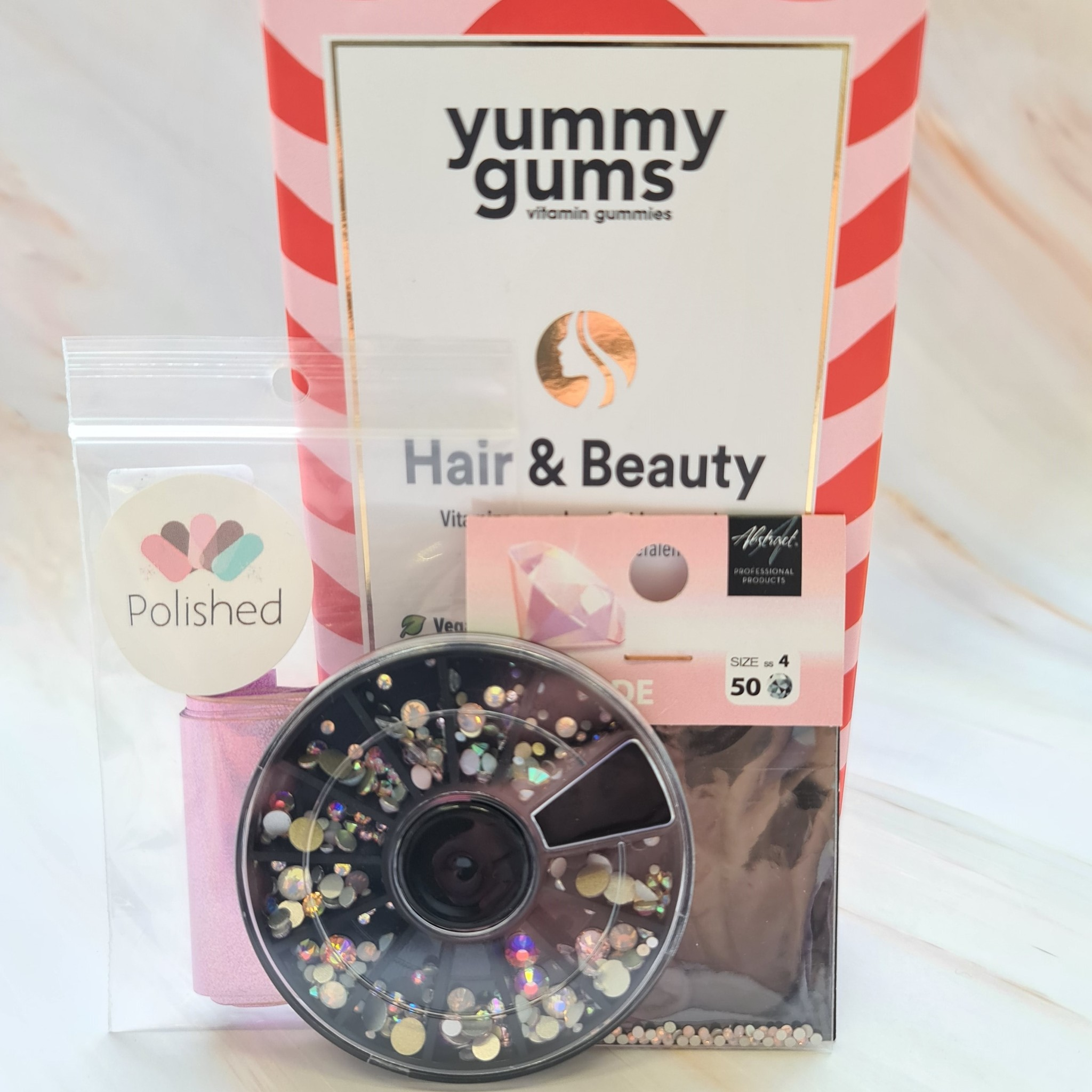 Yummy Gums + Pink bling
