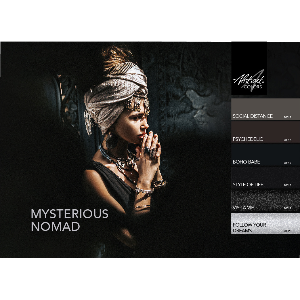 Abstract Colorgel collectie Mysterious Nomad
