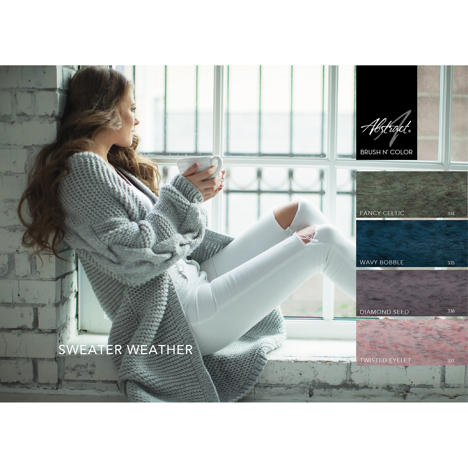 Abstract® Brush N' Color collectie Sweater Weather