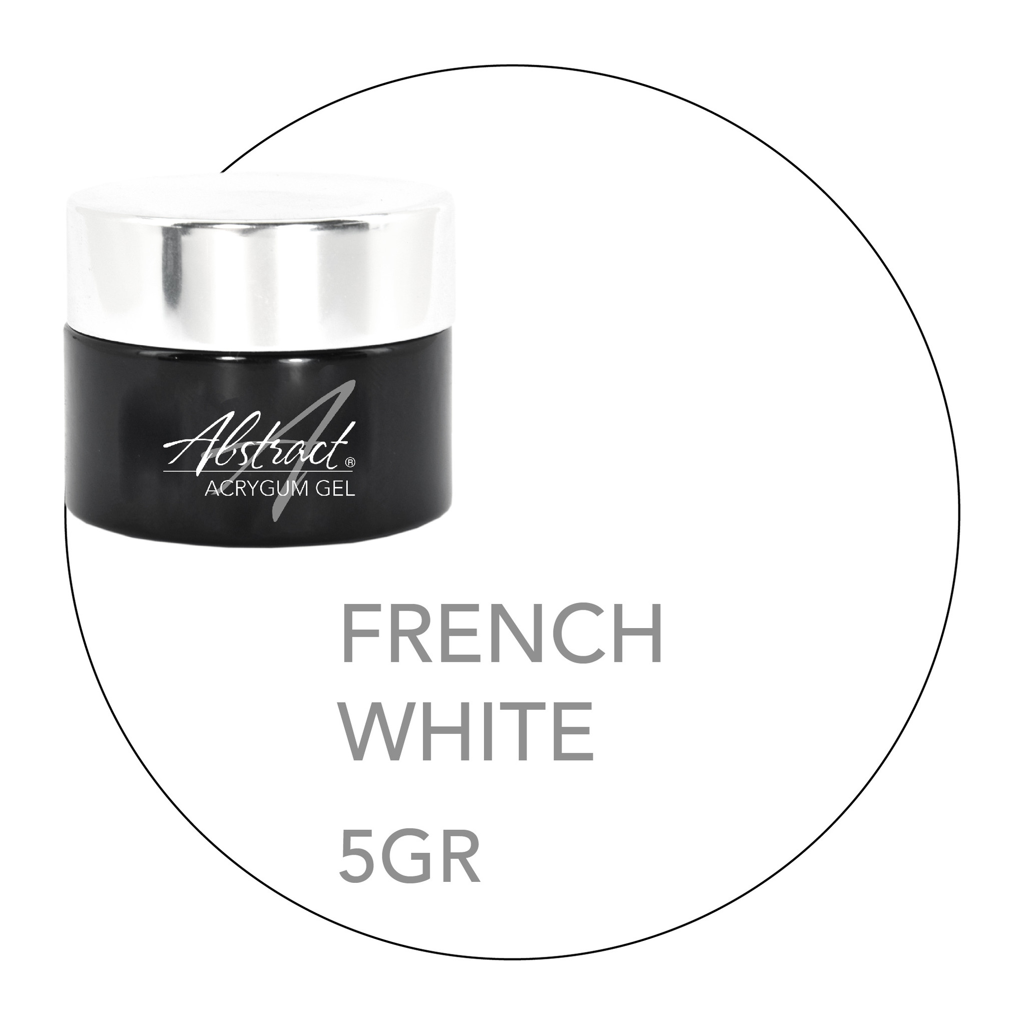 Abstract® AcryGum FRENCH WHITE 5 gr