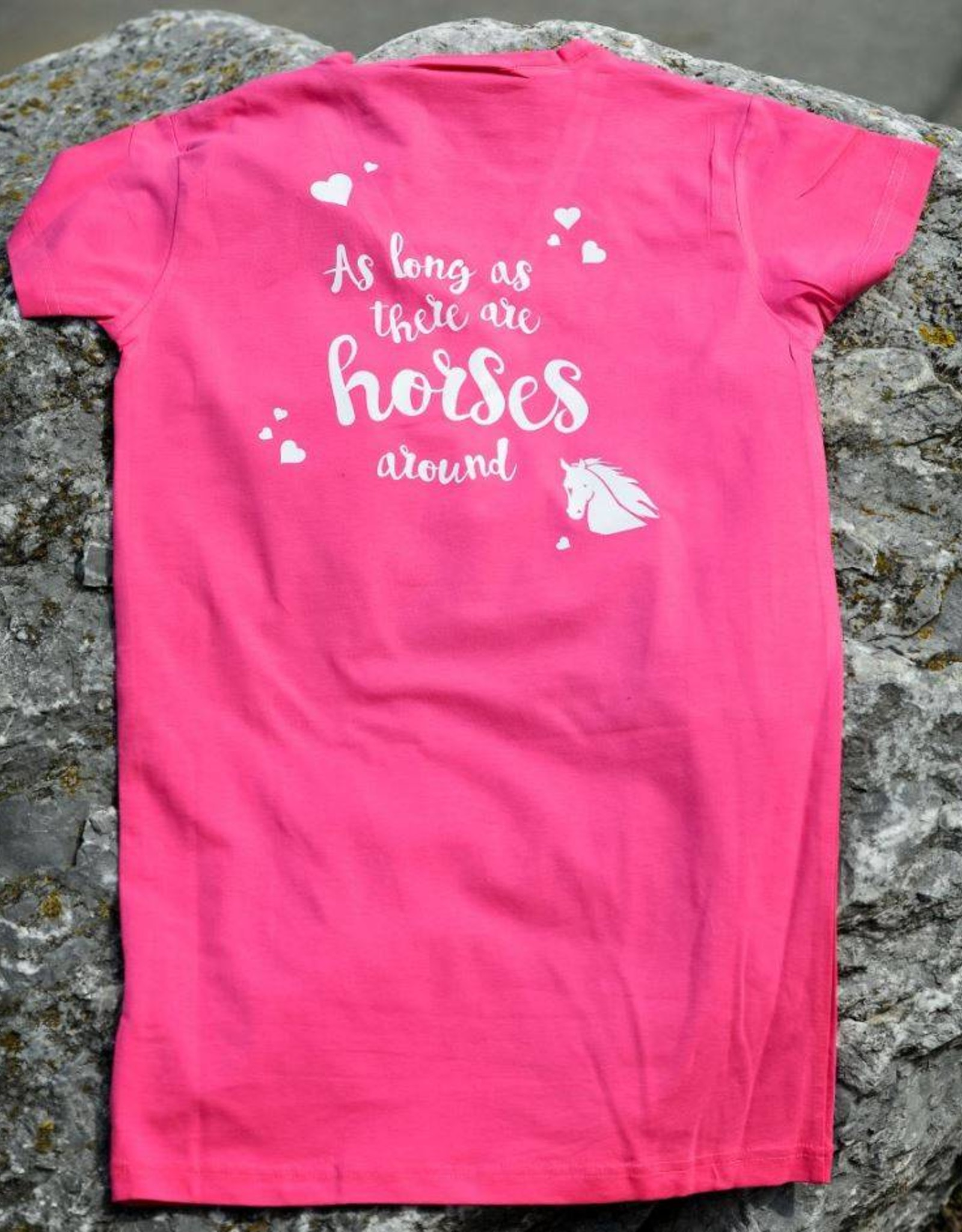 HVP t-shirt  Anything is possible - Roze